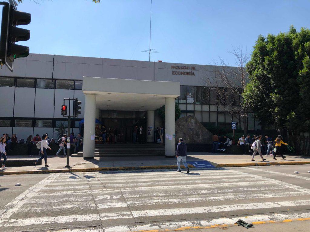 メキシコ国立自治大学の経済学部
