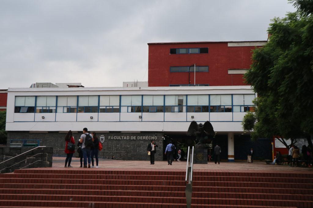 UNAMの法学部。CEPEからも近いし、日本人学生もたまにいる。