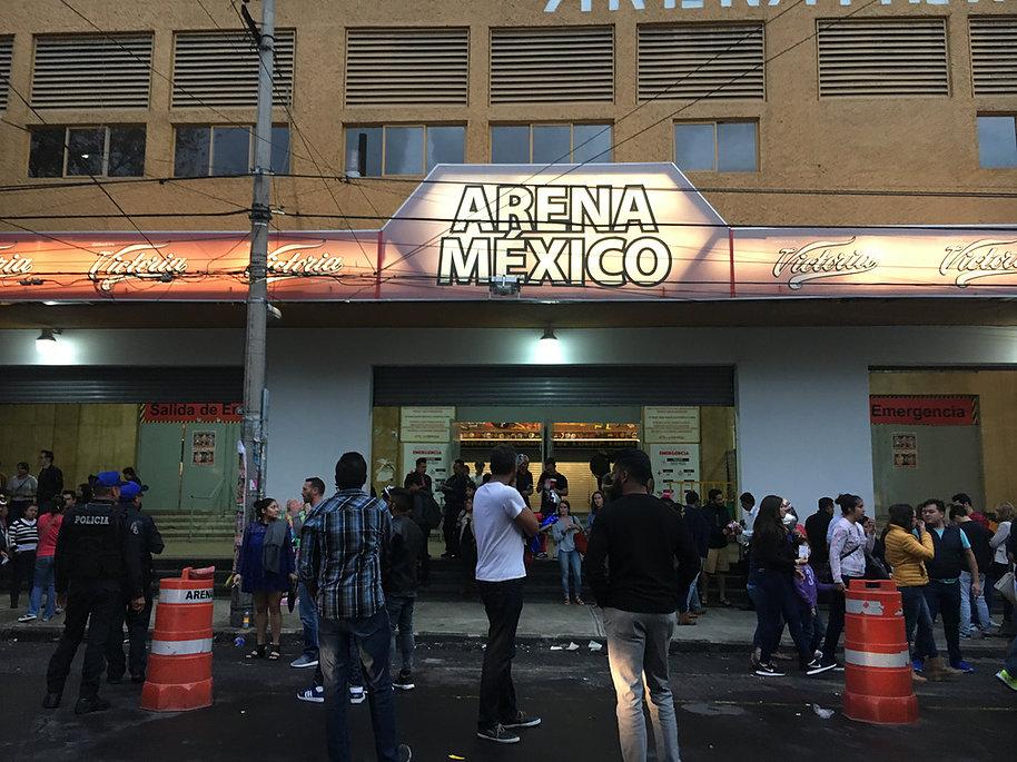 アレナ・メヒコ。メキシコシティのルチャリブレと言ったらここ。