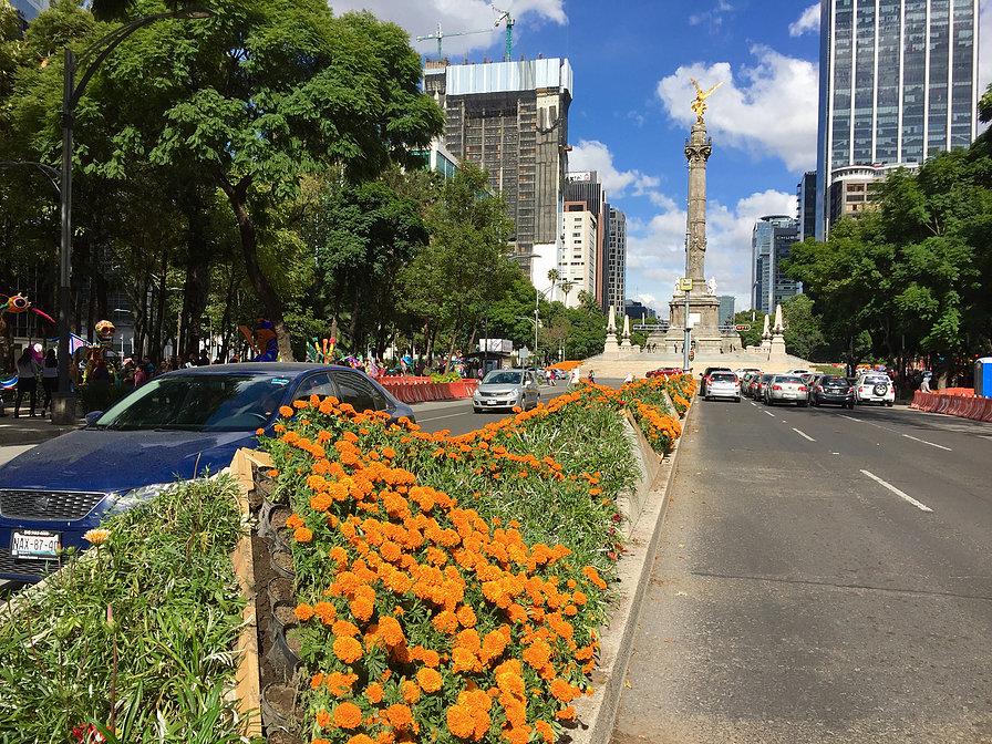 死者の日, メキシコシティ