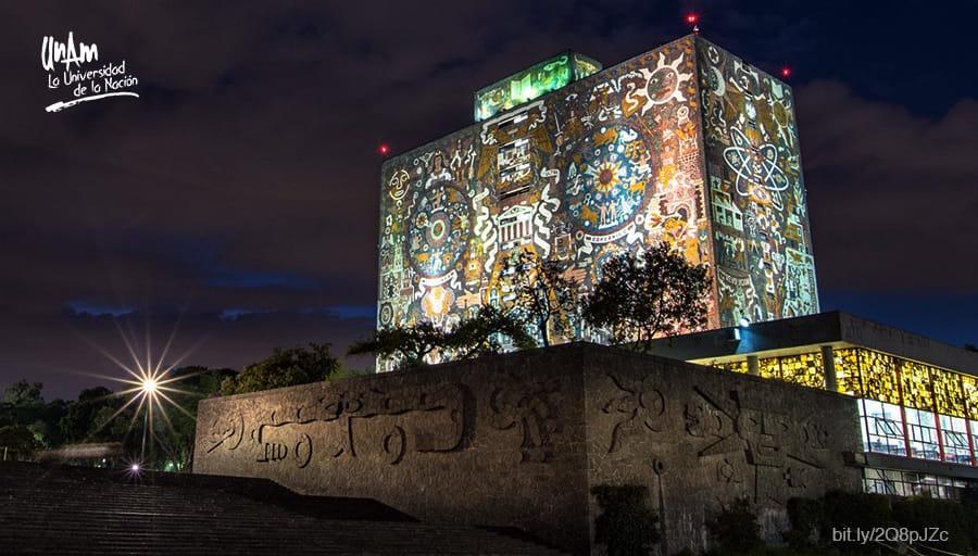 メキシコ国立自治大学の壁画は世界遺産に登録されている