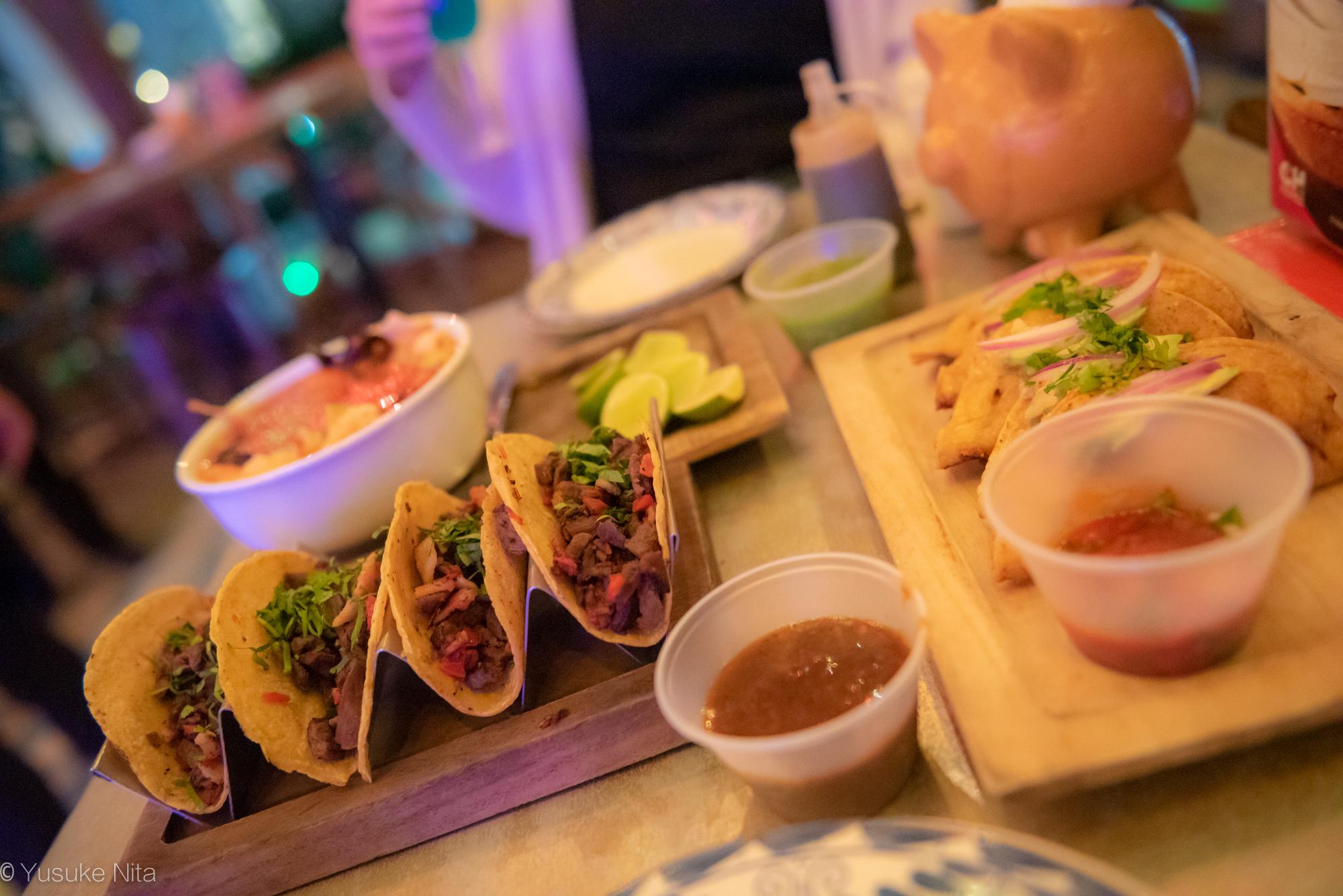 カンクン初日のディナーはCHUCITO PEREZでメキシカンを堪能!