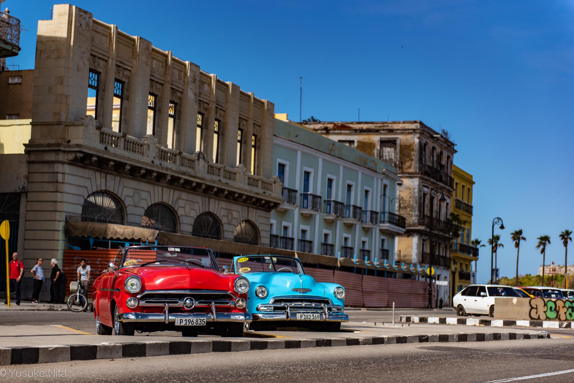 オールド・ハバナの街並みはまさにヨーロッパ!