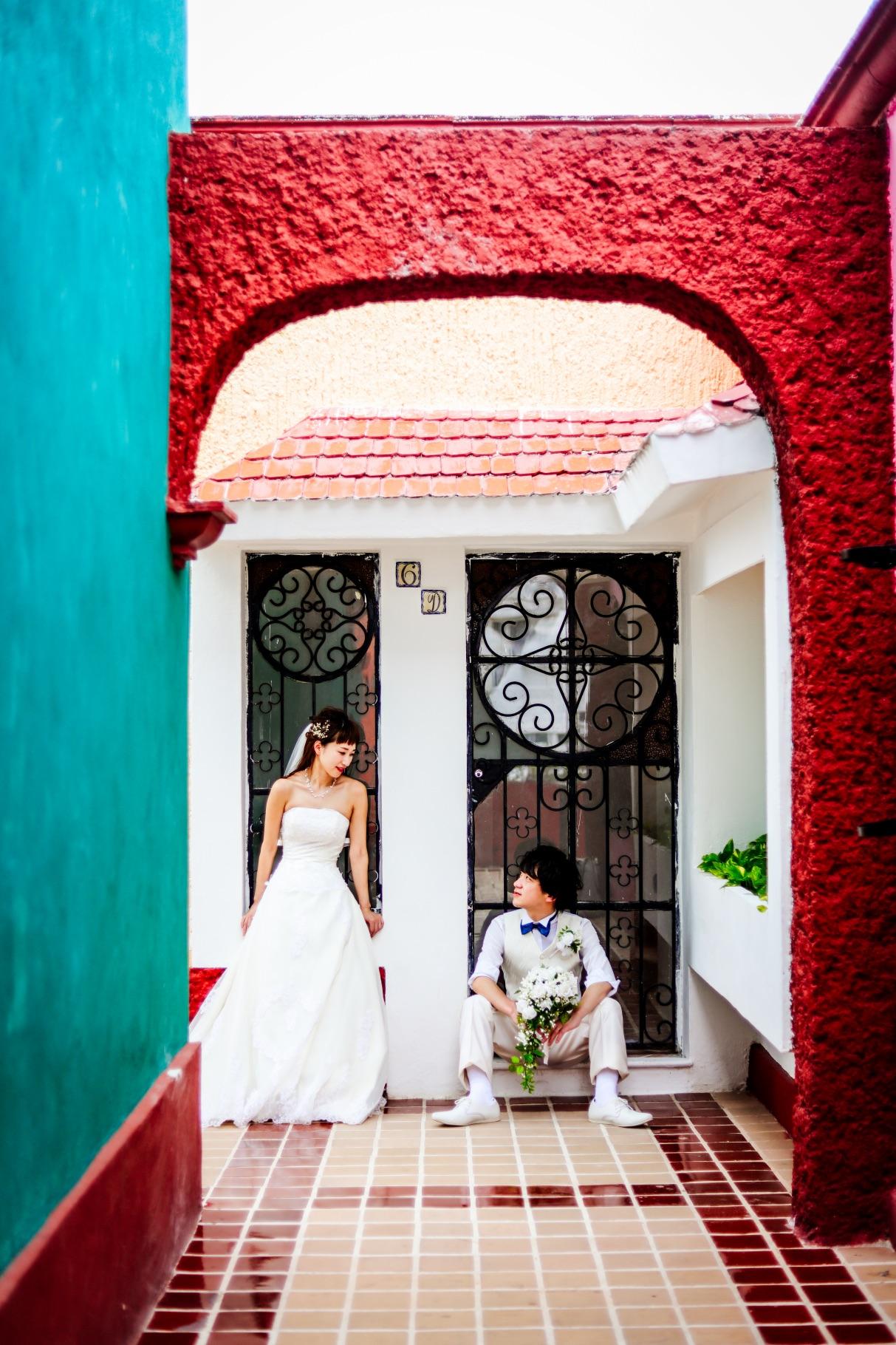 カンクンでウェディングフォトを撮るなら「Wedding DELI」さん!