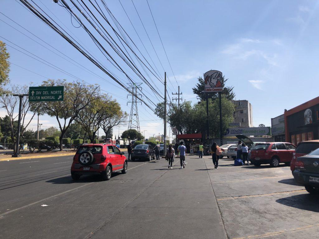 ティアンギス,メキシコシティ