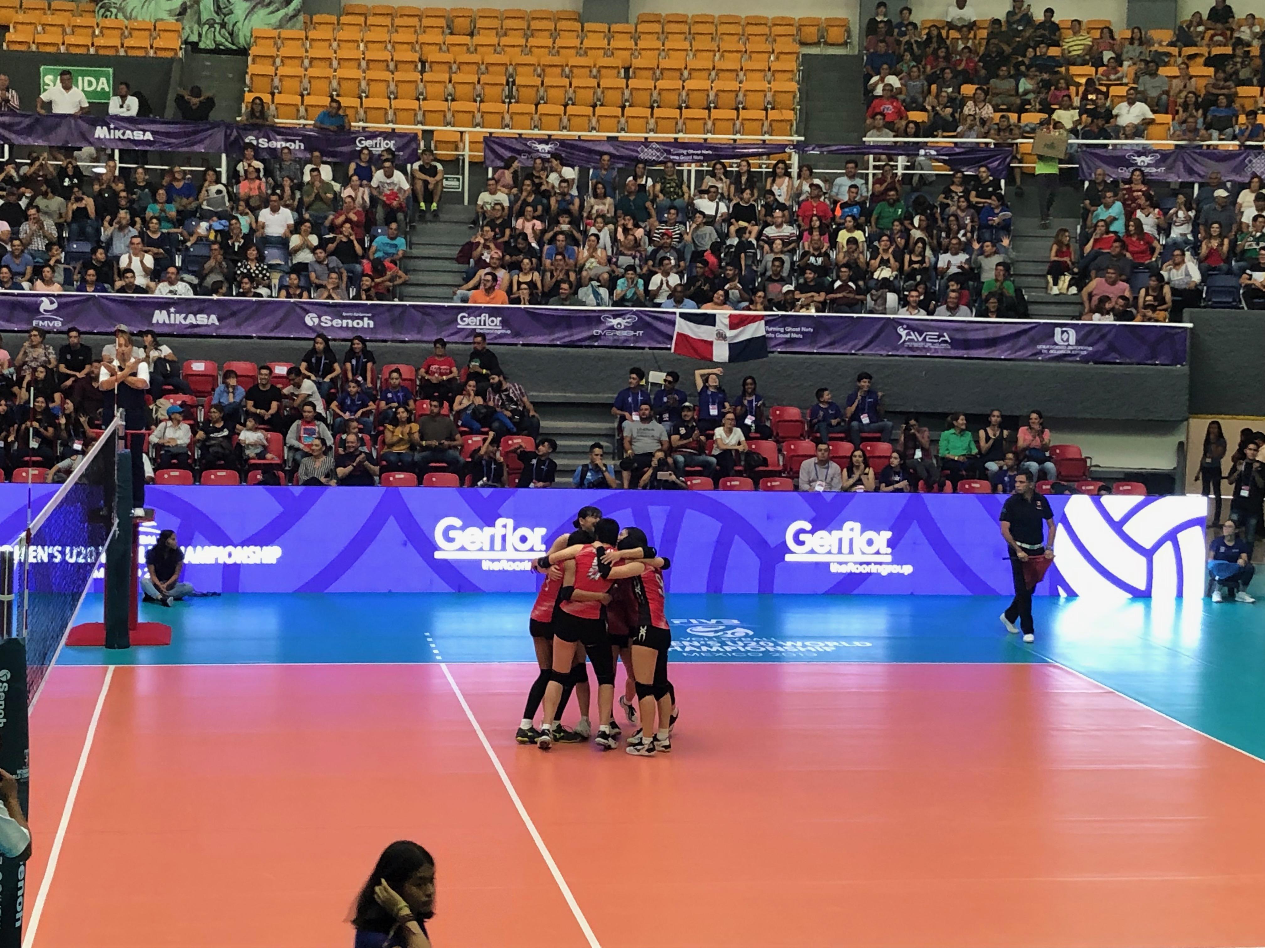 バレーボール女子U20世界選手権!in メキシコ・アグアスカリエンテス