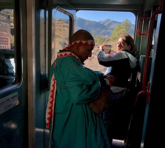 チワワ太平洋鉄道には地元民が多く通う。