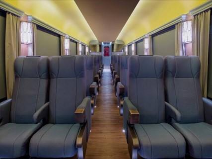 チワワ太平洋鉄道の列車の観光客クラス